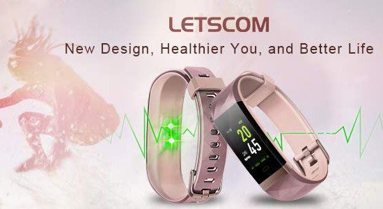 Heart Rate Monitor Wristband With Cream Strap