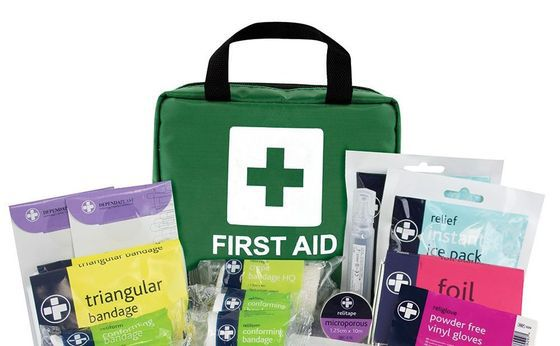 Family First Aid Kit With Bandage Bags
