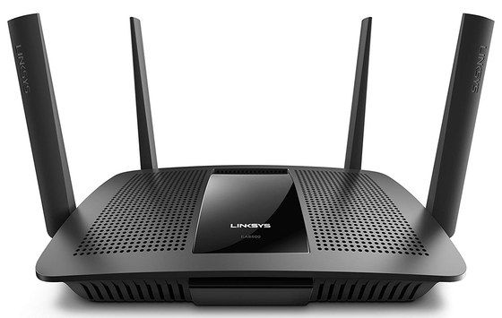 Max Dual Band WiFi Router With Black Exterior
