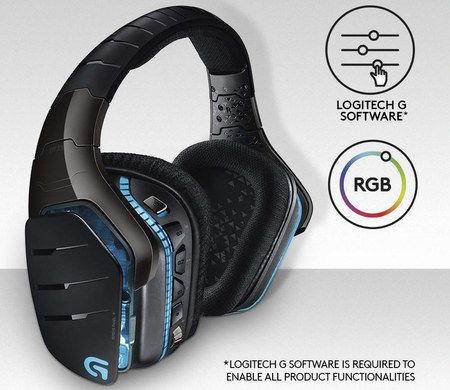 Wireless Headset 7.1 With RGB Light