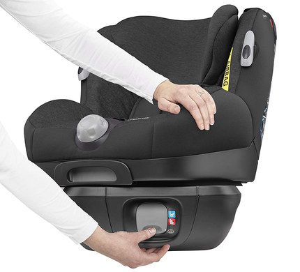 Child Car Seat In Deep Black