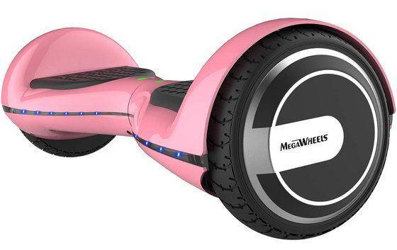 Bright Pink Electric Hoverboard