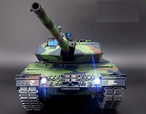 Battle Metal Tank With Front LED