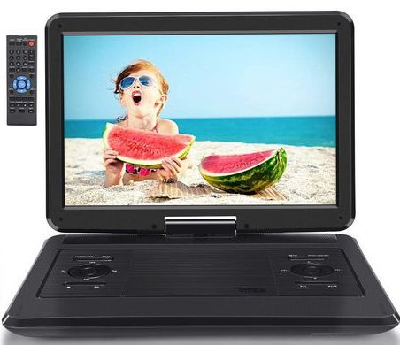 Car DVD Player With Black Screen Border