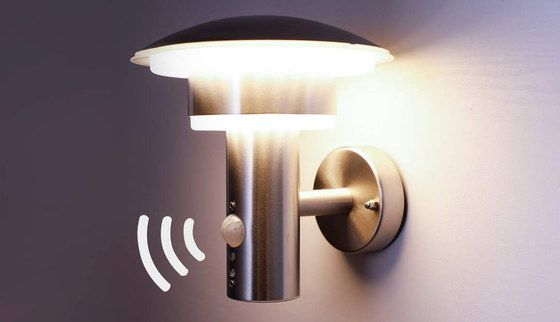 Outside Wall Light With Dome Shape