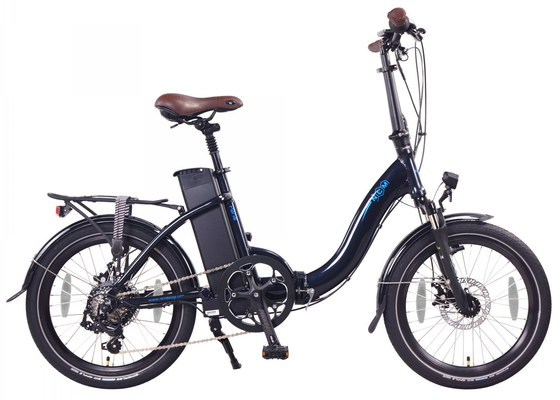 Folding E-Bike With Sturdy Low-Step Frame