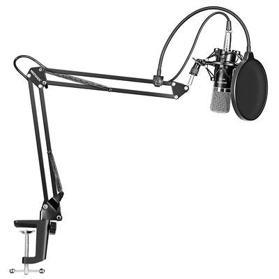 Condenser Microphone With Steel Arm