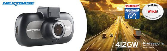 Car Camera Recorder In Grey And Black