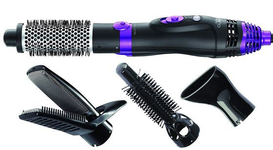 Hot Air Styler In Black and Purple