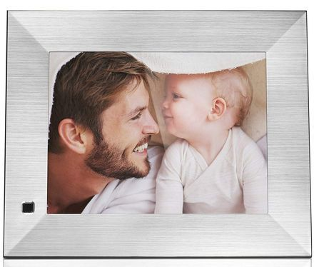 Moving Photo Frame With Steel Edge