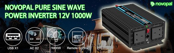 Sine Wave 12V Inverter With Side USB Slot