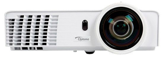 3D DLP Projector In All White