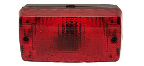 Red Rear Fog Lamp With Fixing Bracket