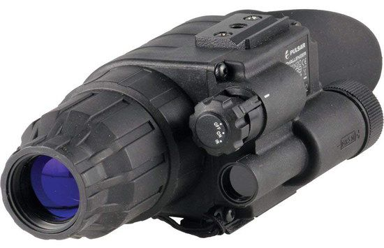 Night Vision Monocular With Blue Eye Piece
