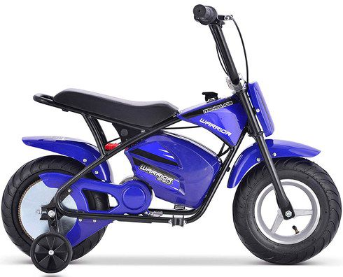 Battery Powered Dirt Bike In Blue