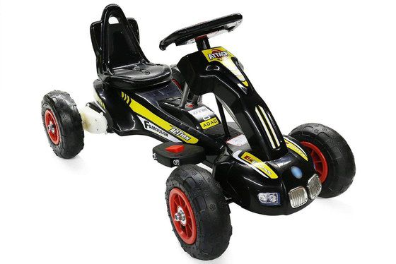 Ride On Kart In Yellow And Black