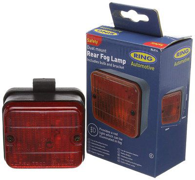 Dual Fog Lamp With Blue Box