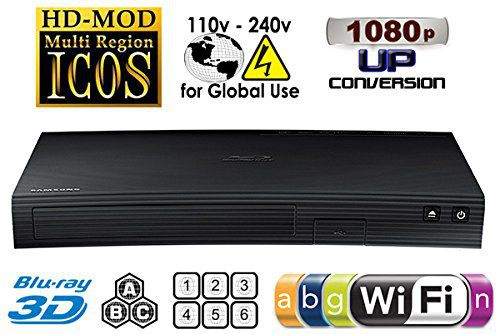 Curved Style Blu-Ray Player