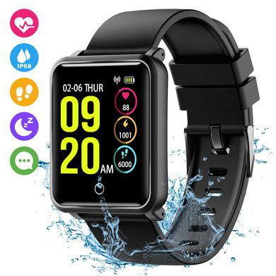 Waterproof HR Monitor Watch With Greed LED Digits