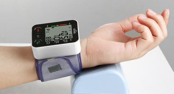 Blood Pressure Meter In White And Black
