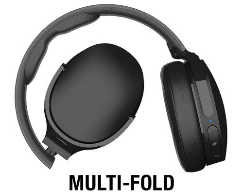 Over Ear Headphones With Fold Diagram