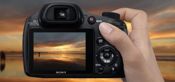 Small Sized Digital Camera In Black