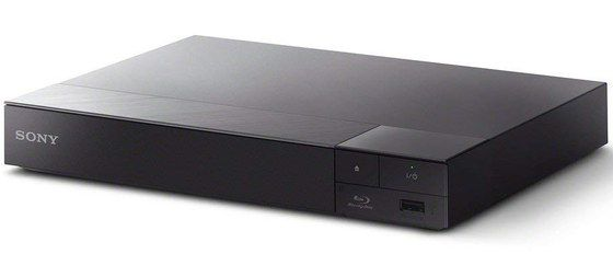 Blu-Ray Player In Black