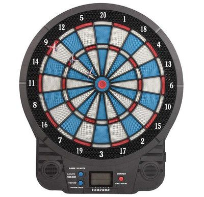 Electronic Dart Board In Blue And Black