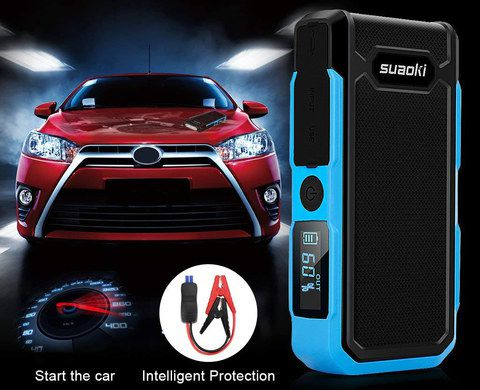 Jump Starter Power Bank In Blue