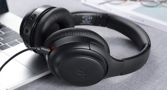 ANC Wireless Headphones In All Black
