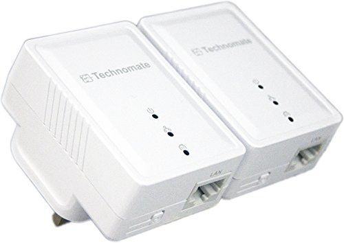 Powerline Adapter Kit With White Exterior