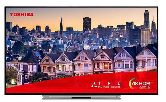 55 Inch 4K UHD TV With Black Border