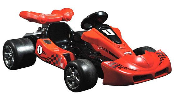 Red Coloured Electric Kids Kart