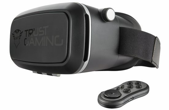 Gaming Mobile VR Headset In All Black