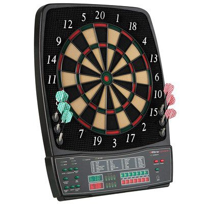 Electronic Dartboard In Black Finish