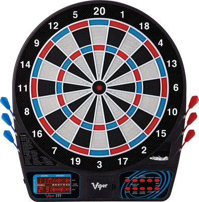 Electronic Darts Set With Low Counter Display