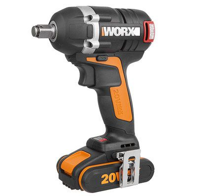 Cordless Impact Wrench With Black Trigger