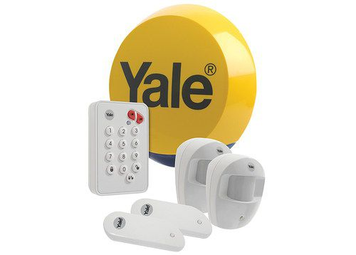 Wireless Intruder Alarm Kit With White Keypad