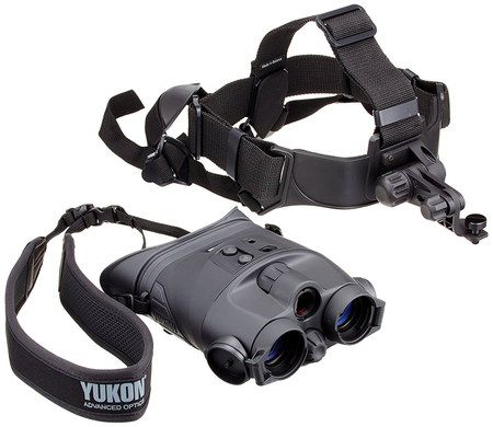 Night Vision Goggles With Black Strap Headmount
