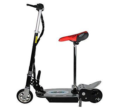 Electric Scooter For Kids In Black Finish