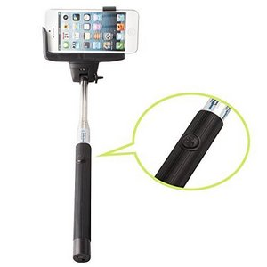 AFUNTA Extendable Bluetooth Selfie Stick With Shaft Close-Up