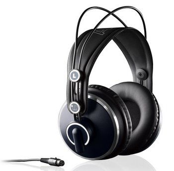 AKG K271 Trendy MKII Studio Class Headphones In Black And Navy Colour Exterior