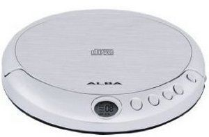 Alba 24 Track Personal CD Music Player With Silver Exterior