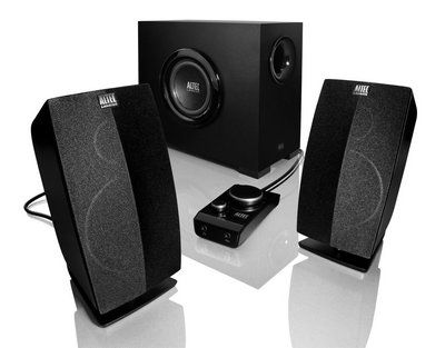Computer USB Speaker Set in Black