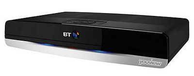 BT YouView+ iPlayer, Freeview HD TV Recorder
