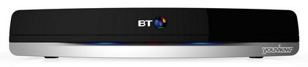 Set Top Box In Black With BT Logo
