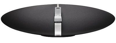 B and W Zeppelin Air AirPlay Speaker in Black and Grey