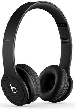 On Ear Portable Headphones in Black