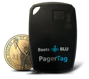 Bluetooth Key Finder In Black With Coin