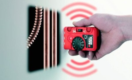 Live Cable Detector In Red And Black Casing